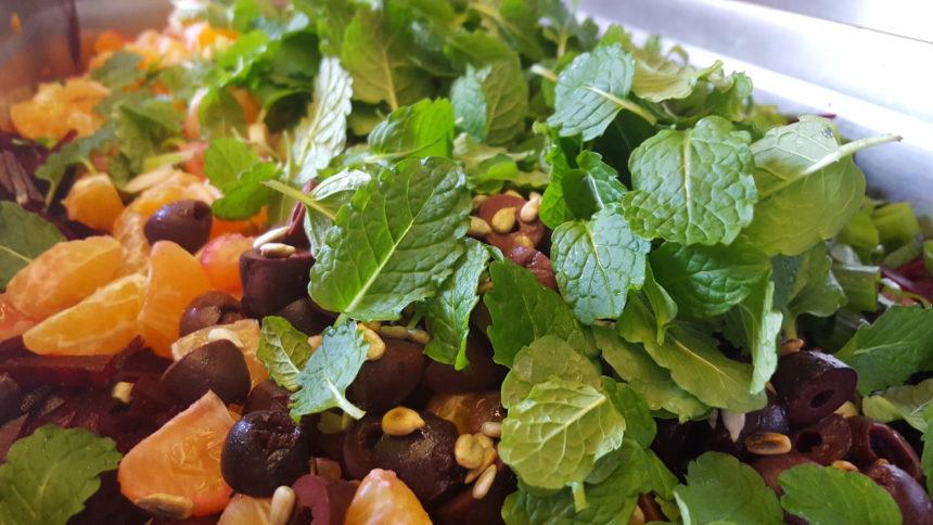 Recept wintersalade vegetarisch De Groene Kookacademie vegetarische recepten gezond eten biologisch winter