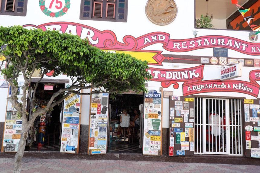 Charlie's Bar Aruba San Nicolas charlies bar restaurants Aruba hotspots