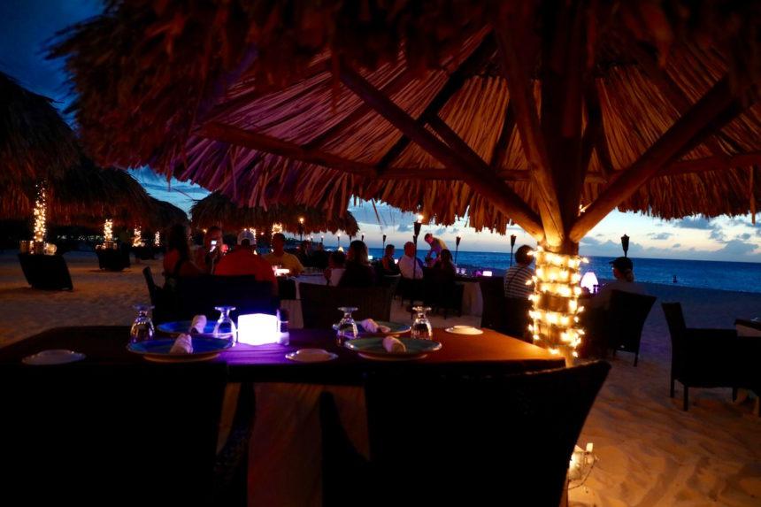 Restaurant Passions on the Beach Aruba