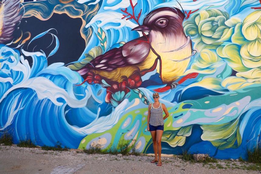 Street art San Nicolas Aruba Art Fair