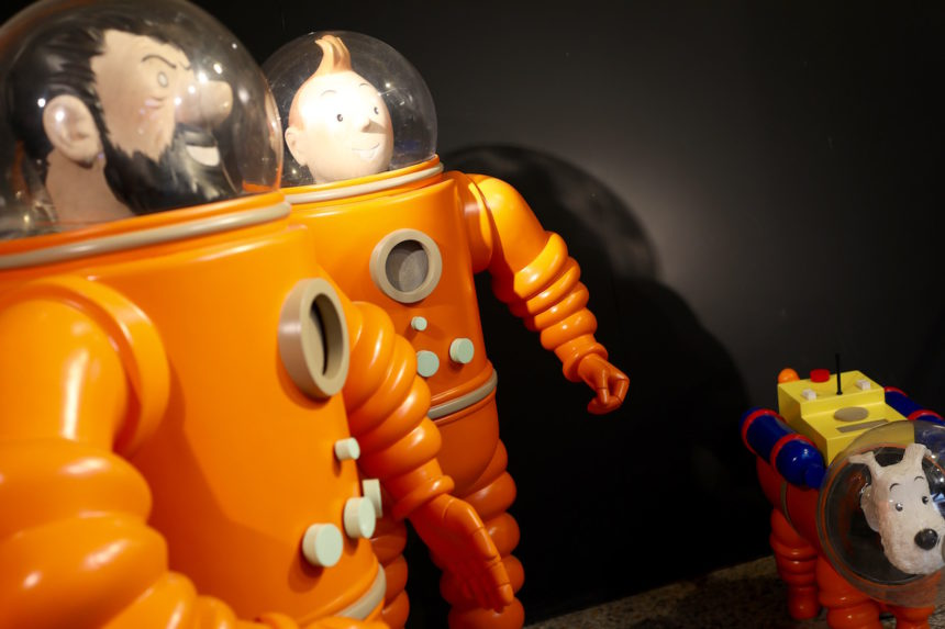 Stripmuseum Brussel kuifje