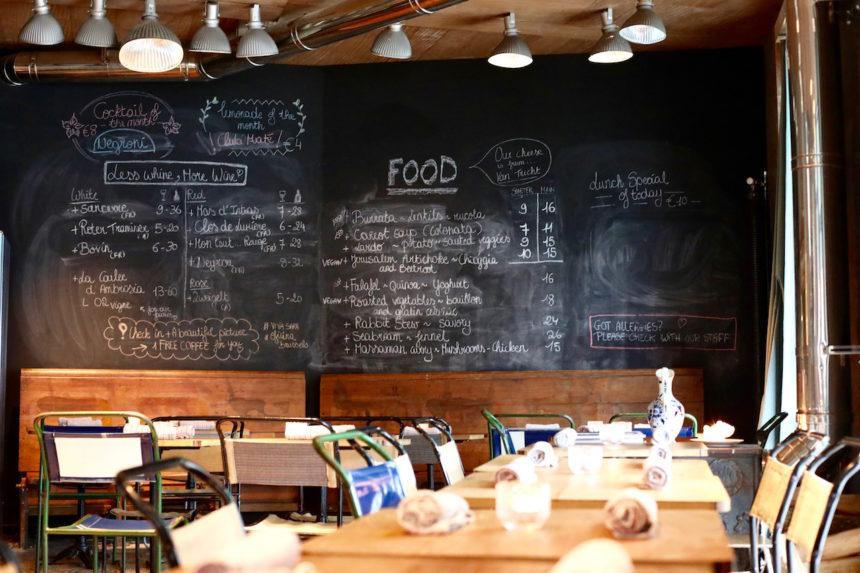 Oficina Brussel restaurants Brussel restaurants Dansaert dansaertwijk biologisch vegan vegetarisch