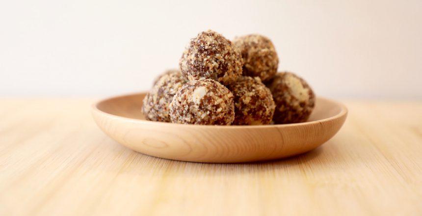 Recept dadelballetjes vegan restaurant loff