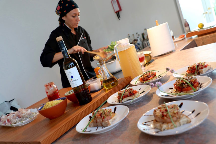 Casa Modesta hotel algarve show cooking