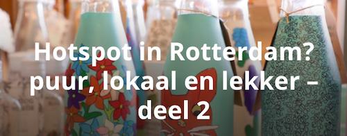 Hotspots Rotterdam biologisch