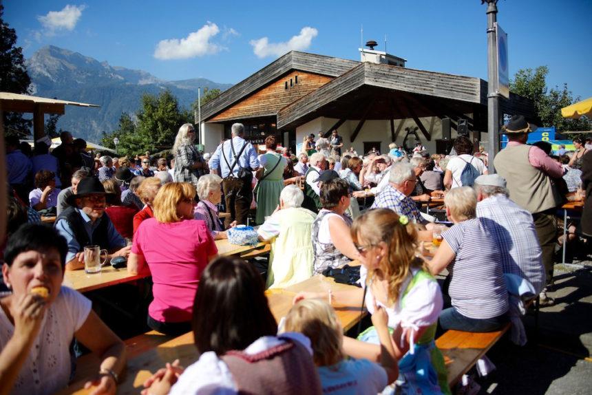 Almabtrieb Tirol Reith im Alpbachtal