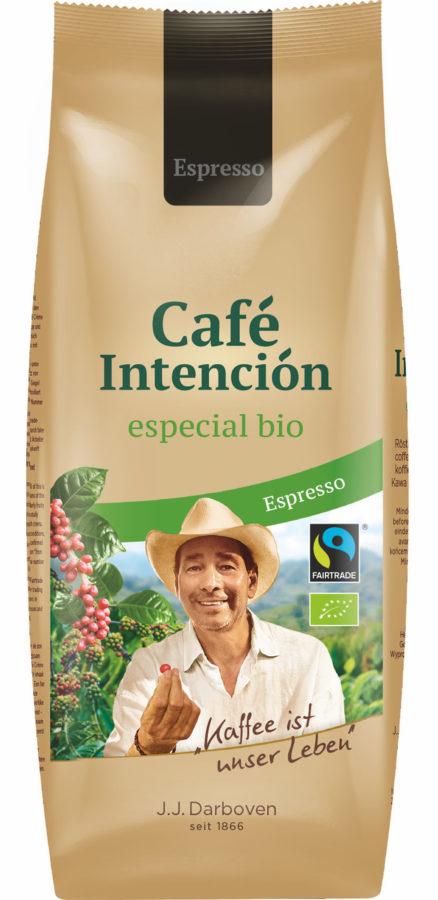 Café Intención especial bio biologische fairtrade koffie horeca