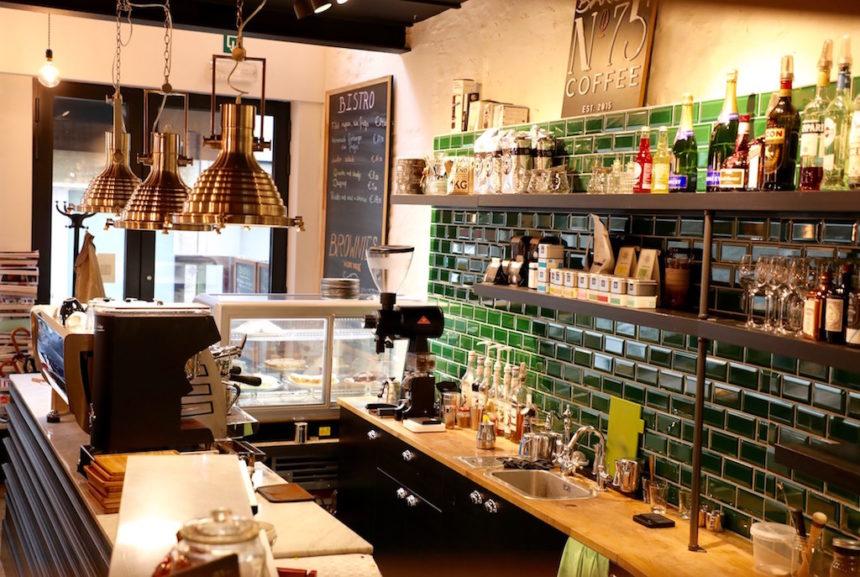 Barista No 75 Oostende espresso koffie puuruiteten