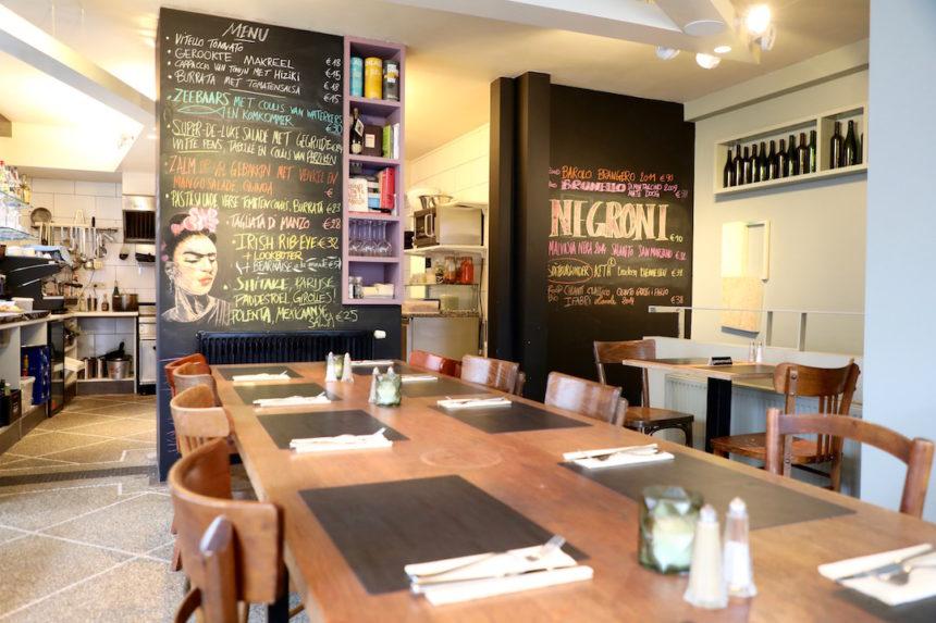 Belle de Jour Oostende restaurant vegetarisch puuruiteten