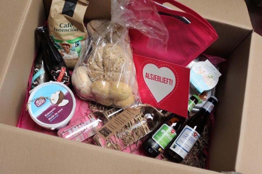 Inhoud Puur! Foodiebox biologisch fairtrade eerlijke merken horeca