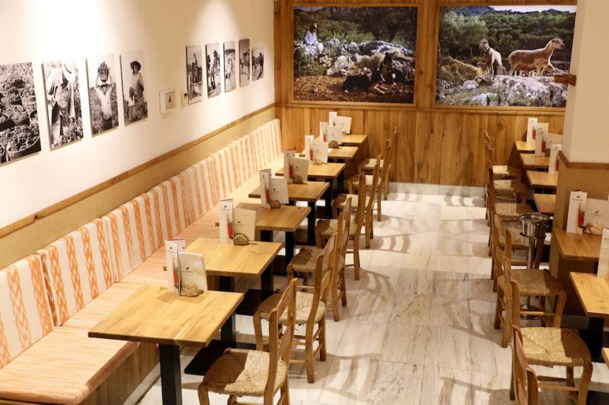 Es Rebost Palma de Mallorca restaurant biologisch lokaal vegetarisch