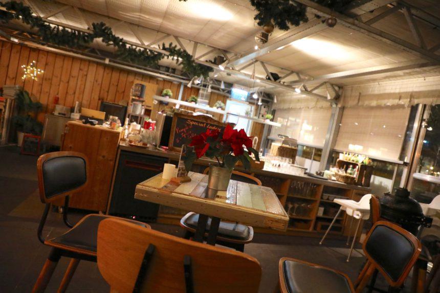 Bij Daphne in de kas Amersfoort vathorst biologisch restaurant