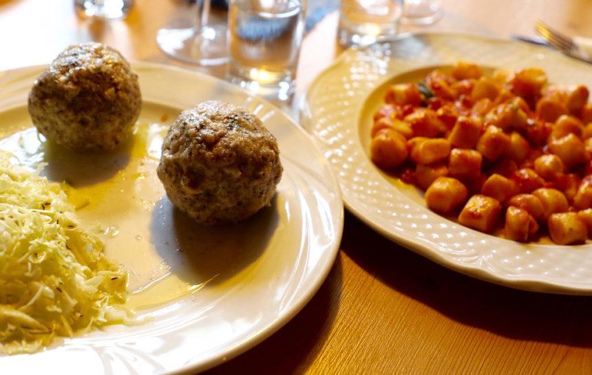 Vegetarisch uit eten in Alta Badia