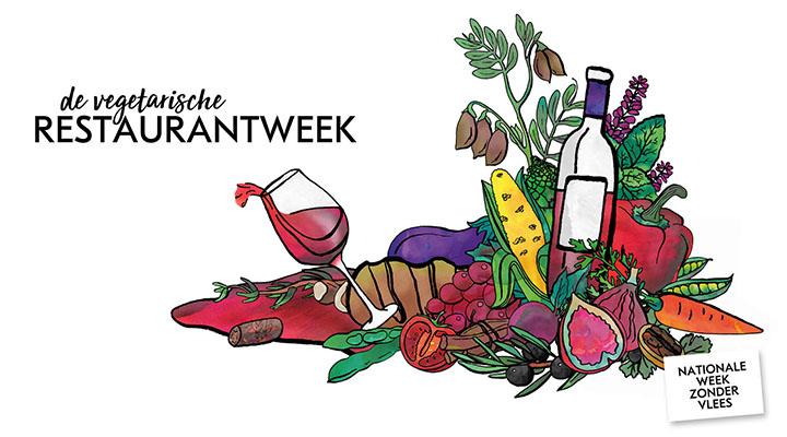 Vegetarische Restaurantweek puuruiteten