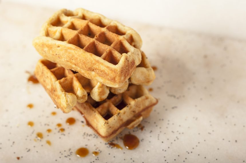 Recept vegan wafels Spirit Restaurant