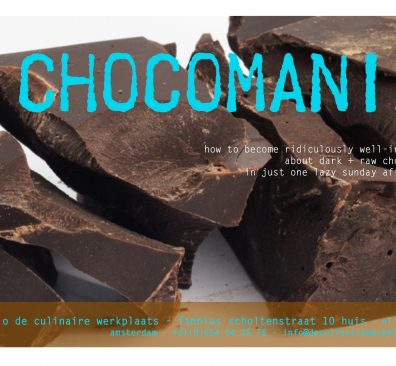t/m 15 november – Chocomania – Amsterdam