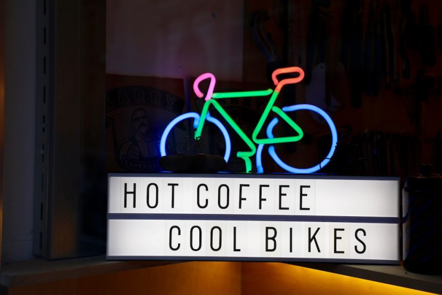 De Fietsbar Hasselt hot coffee cool bikes
