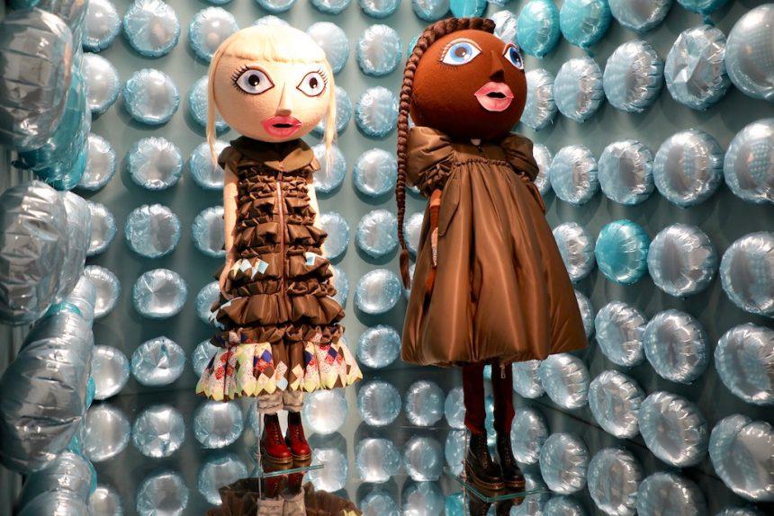 Action dolls Viktor en Rolf Modemuseum Hasselt