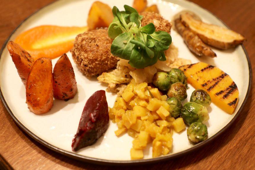 Groentegerecht bij Restaurant de Levensboom Hasselt vegetarisch biologisch eten