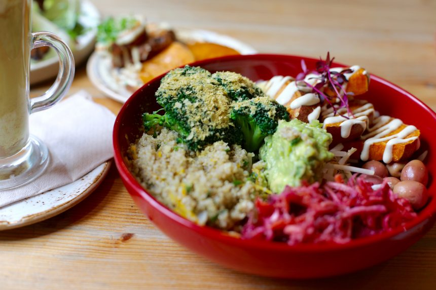 biologisch vegetarisch restaurants Wild Food Cafe Londen london vegan organic restaurants