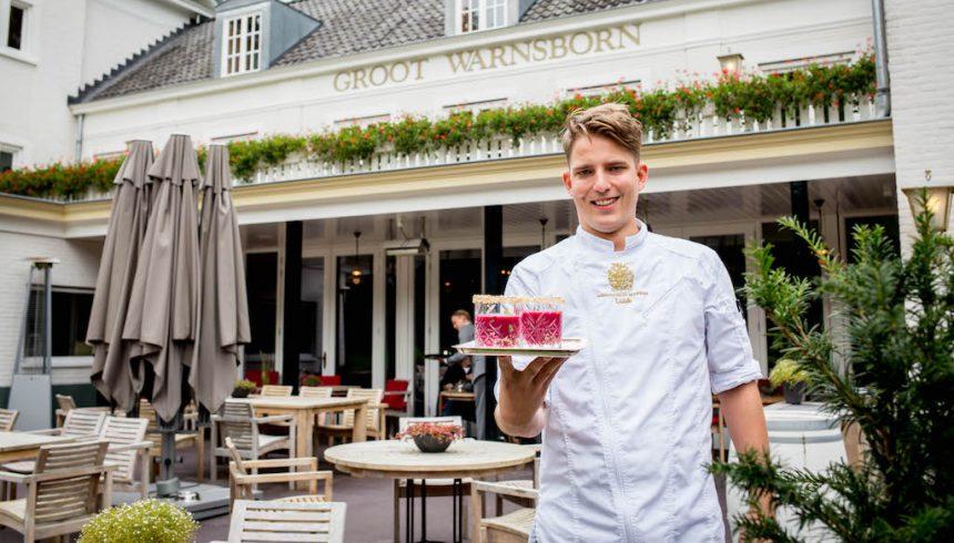 Luuk van Rennes chef-kok Groot Warnsborn arnhem