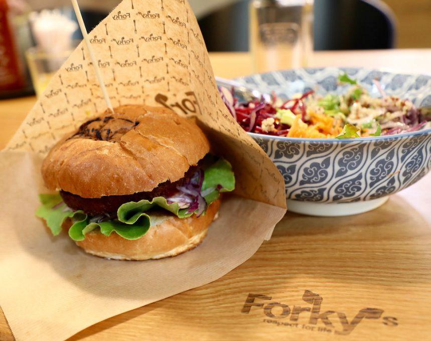 Forkys forky's vegetarisch vegan restaurant Brno