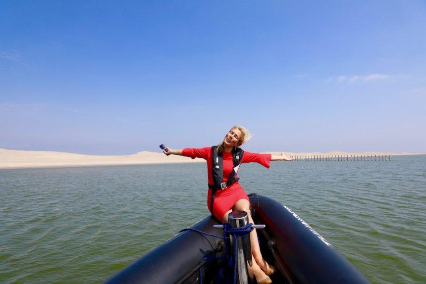 Jeannette van Mullem Markermeer per rib boot marker wadden