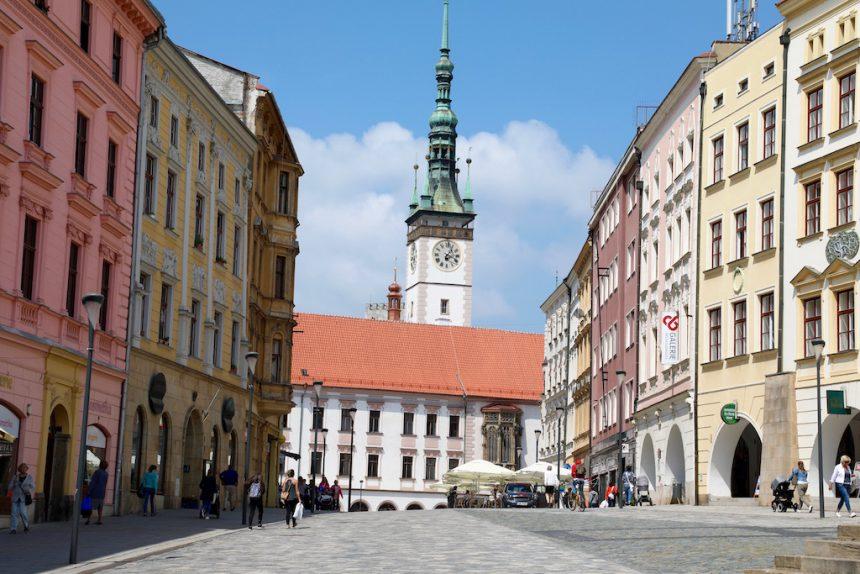 Olomouc Tsjechië czechia