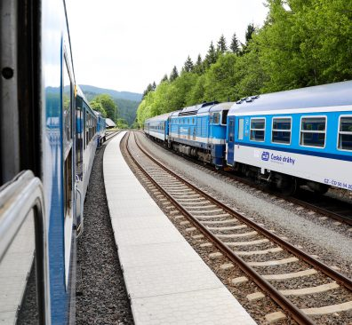 Reizen met de trein in Tsjechië