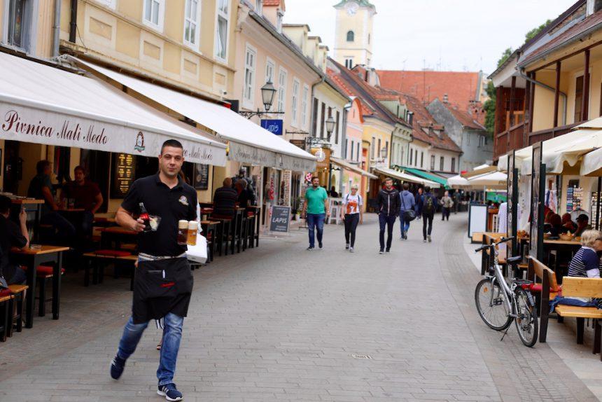 Tkalciceva restaurants Zagreb