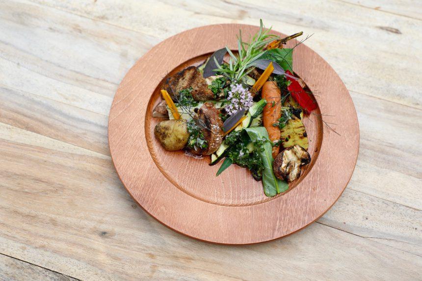 Heerdeberg groenten op de BBQ recept puuruiteten vegetarisch barbeque groente restaurant