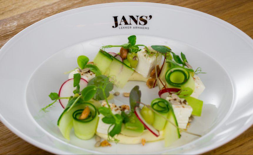Restaurant JANS Arnhem biologisch puuruiteten