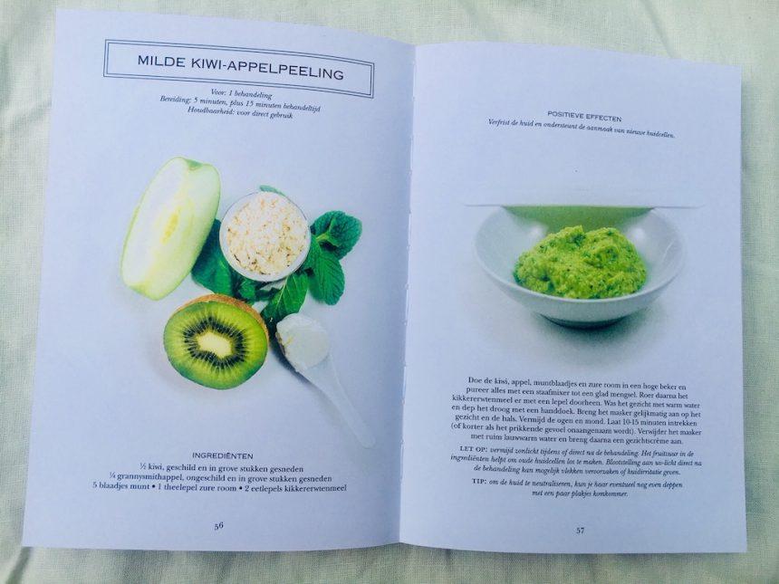 Groene Beauty boek peeling winactie