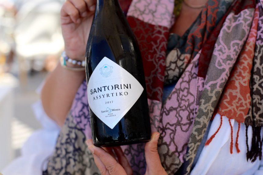 Assyrtiko Santorini wijn Santo Wines