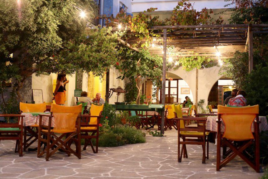 Hotel Boulis Kamares Sifnos restaurants