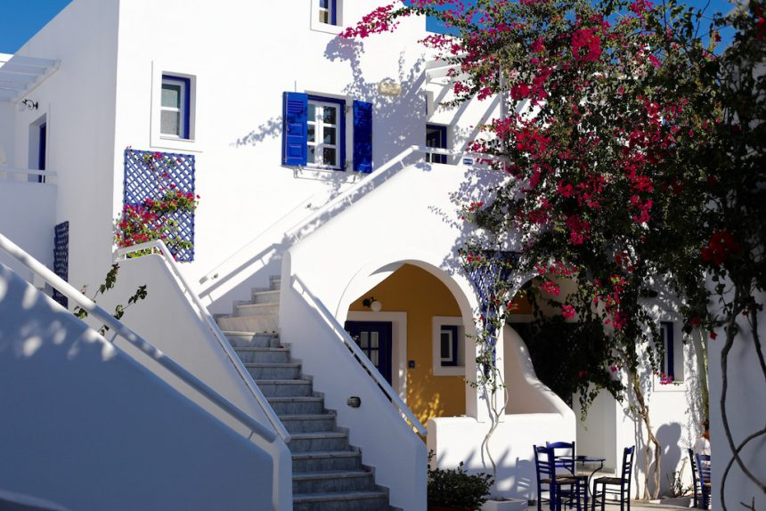 Hotel Kouros Village Santorini Perissa