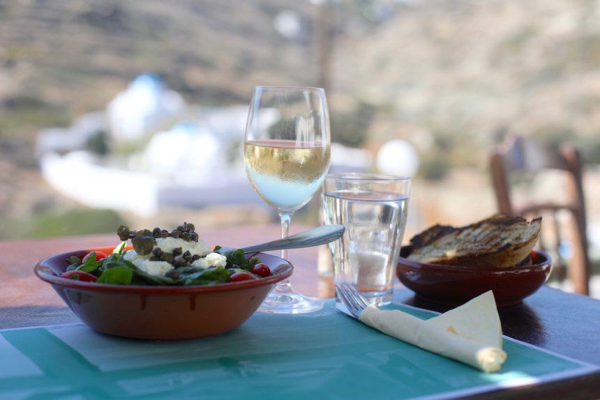 Leonidas restaurant Kastro Sifnos
