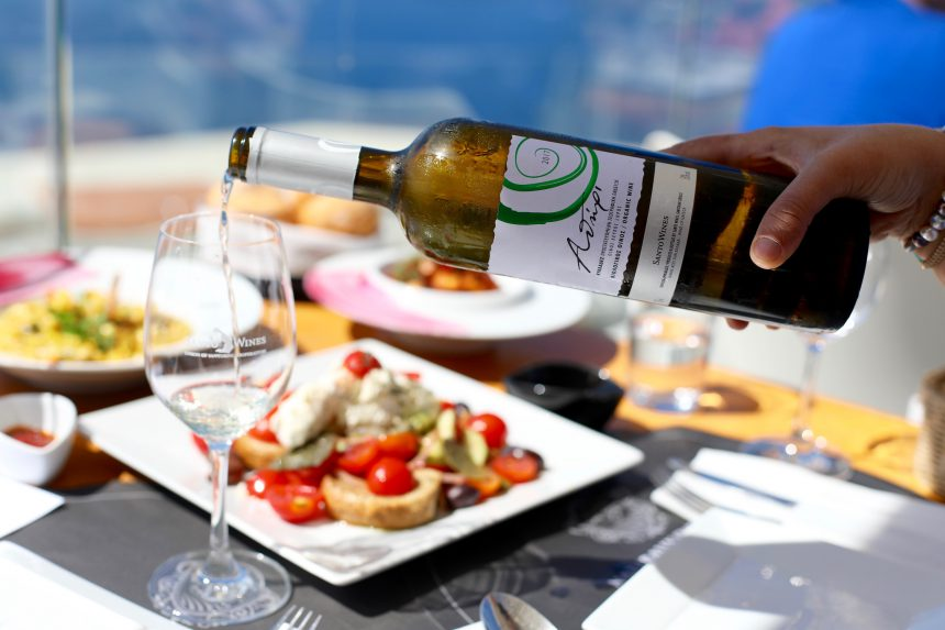 Santo Wines Santorini wijn santorini vakantie tips