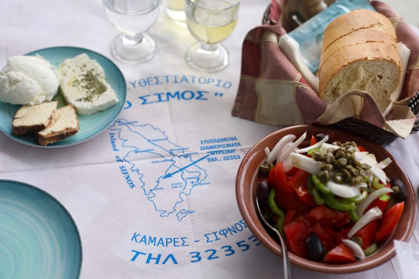 Simos restaurant Kamares Sifnos griekenland