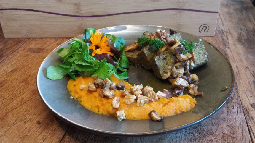 Vegan pâté paddenstoelen recept greentwist catering puuruiteten