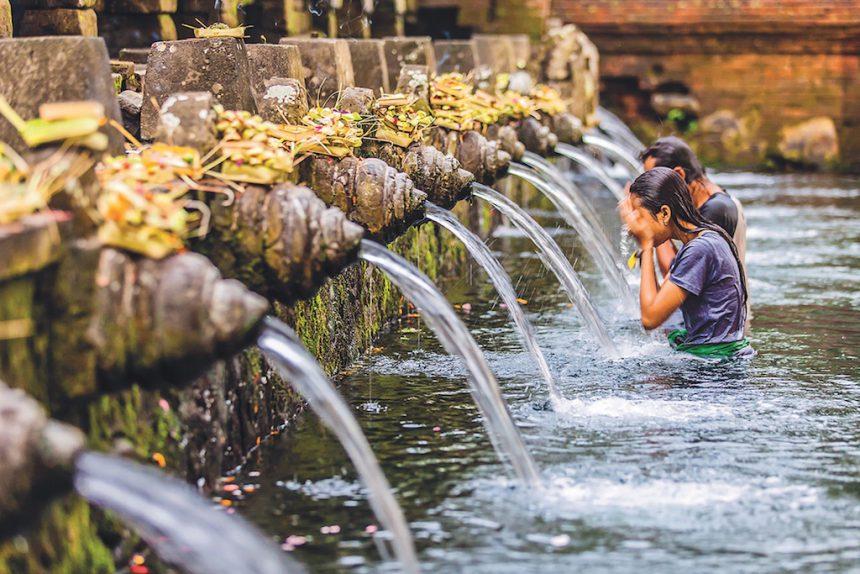 OneWorld Ayurveda - Balinese purification ceremony