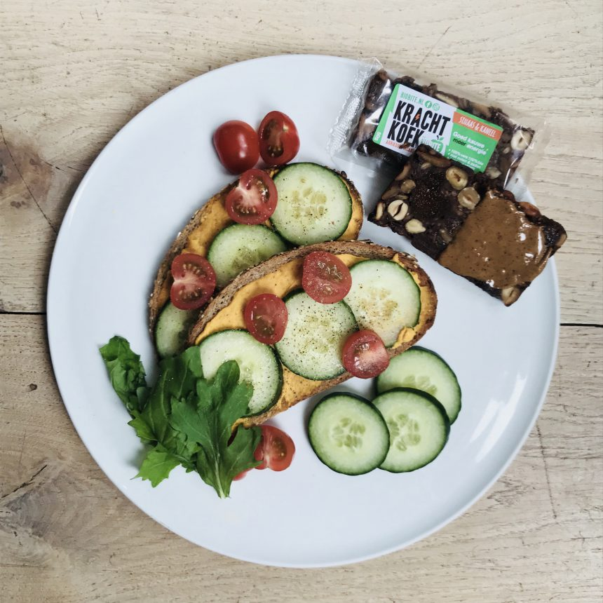 Biobite recept vegan lunchgerecht