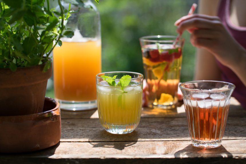 Mocktail recept Ekoland biologisch alcoholvrij