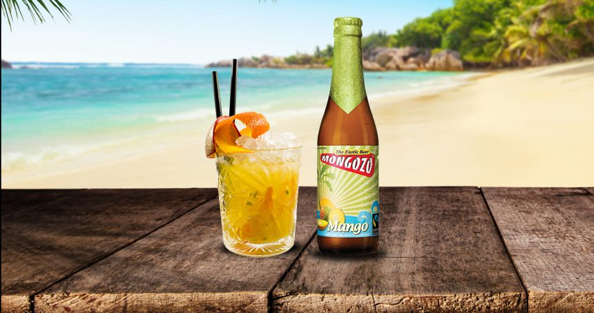 Mongozo bier cocktail mango