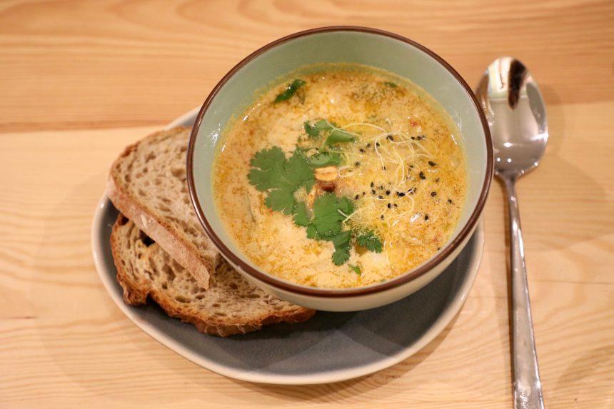 Tom kha soep vegan recept bindicafe amersfoort
