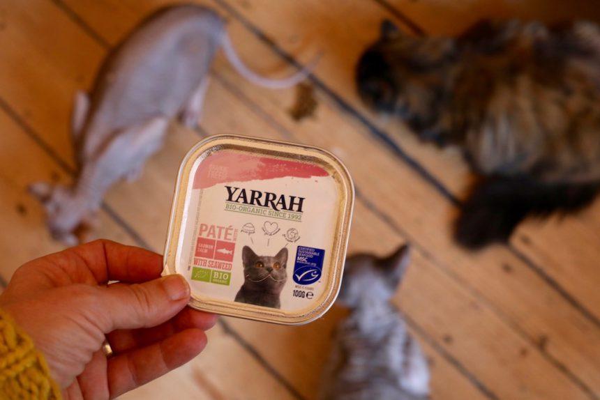 Biologisch kattenvoer Yarrah kattencafes