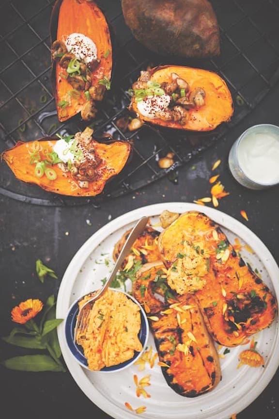 Vega BBQ boek vegetarisch barbecue recept