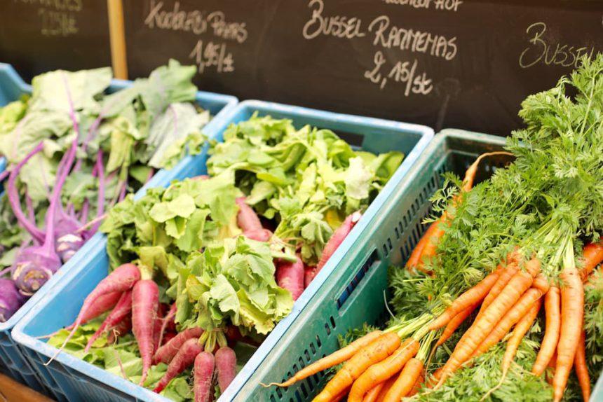 Gent Lousbergmarkt lokaal eten
