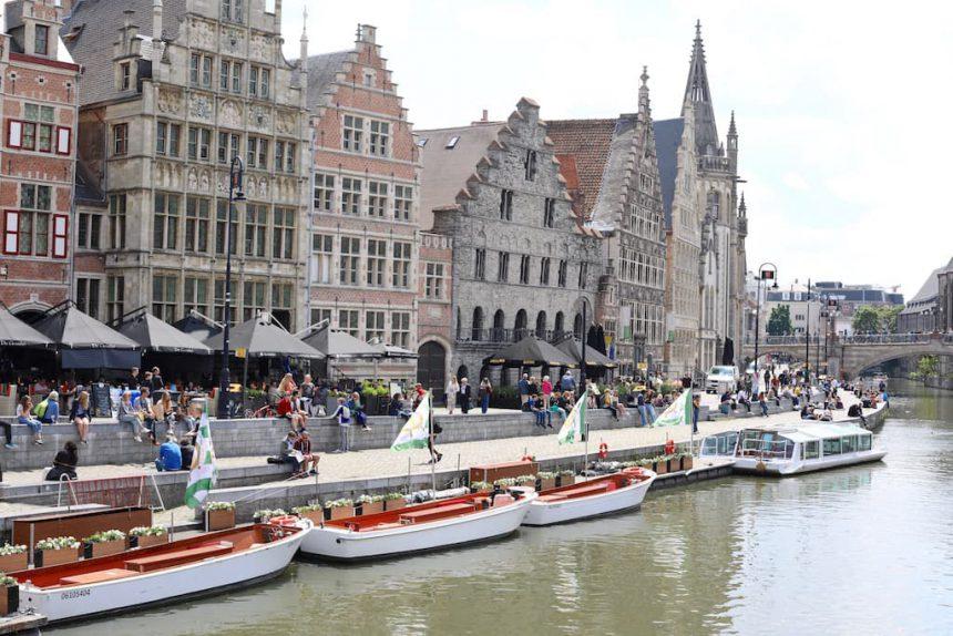 Gent rondvaart boot