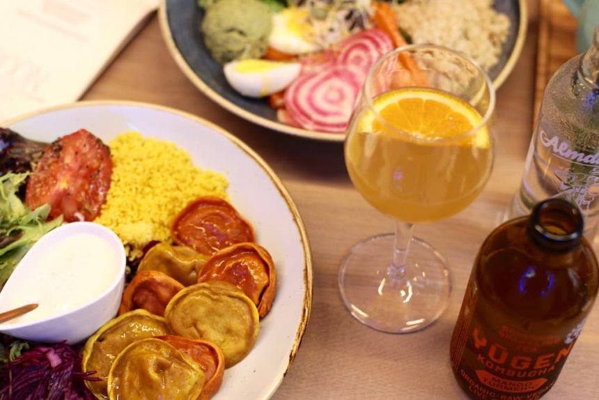 Gent vegetarische restaurants Boon saladebar